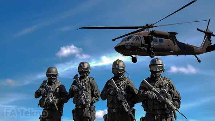 Teknologi Komputer untuk Bidang Militer