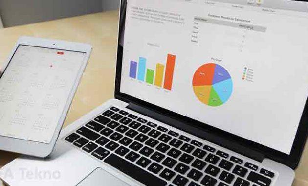 Aplikasi spreadsheet digunakan untuk membuat grafik