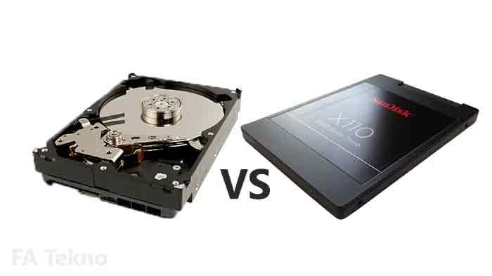HDD vs SSD mana yang lebih baik