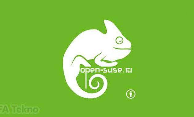 Opensuse merupakan OS open source berbasis Linux
