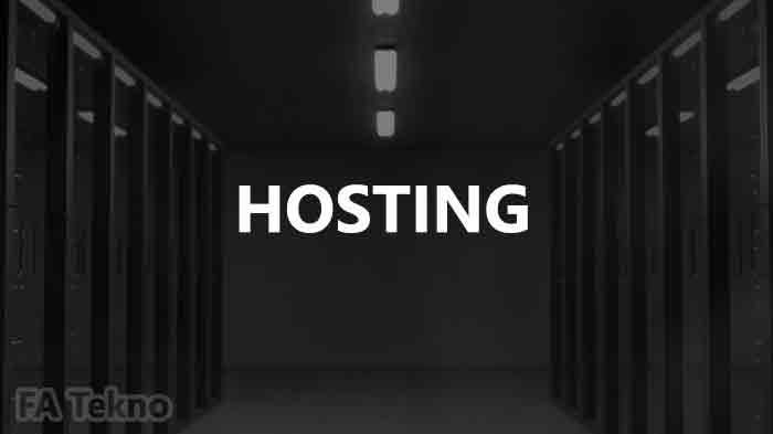 Pengertian hosting, fungsi, cara kerja, dan spesifikasinya