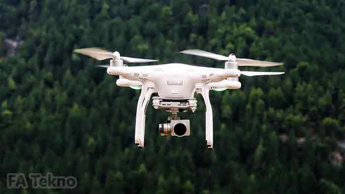 Teknologi drone membantu pekerjaan manusia