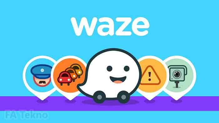 Waze, alternatif aplikasi google maps