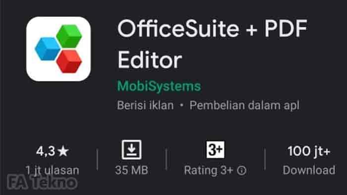 Aplikasi Office Suite