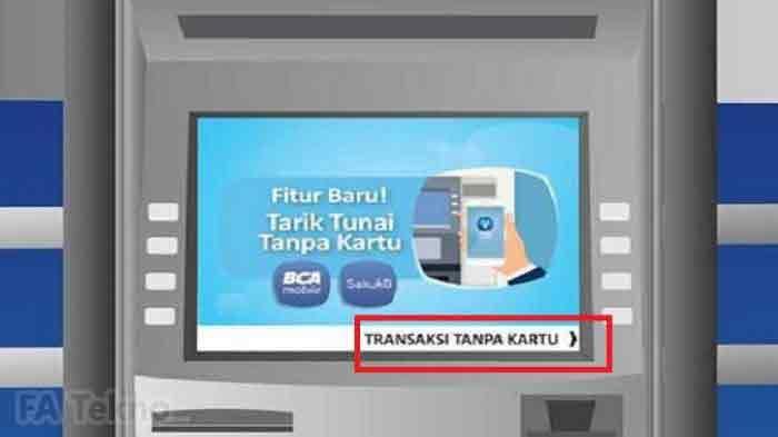 BCA Mobile-Tarik Tunai Tanpa Kartu di ATM BCA