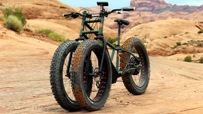 The Electric Juggernaut-Sepeda Canggih dan Unik