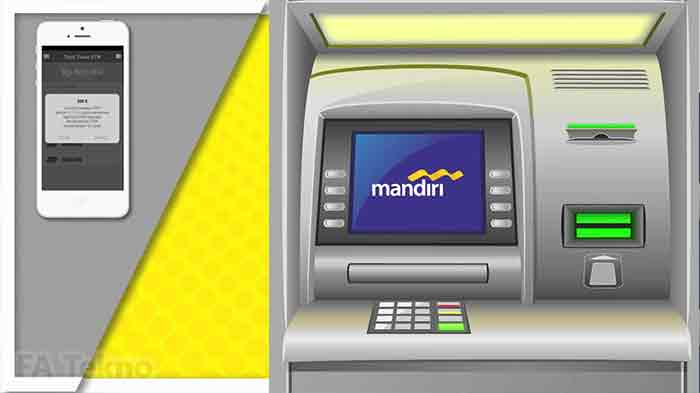 e-cash Mandiri-Tarik Tunai Tanpa Kartu di ATM Mandiri