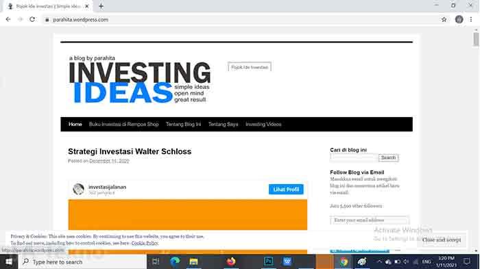 Investing Ideas by Parahita Irawan-Situs Belajar Investasi Saham