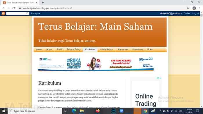 Terus Belajar Saham-Situs Belajar Investasi Saham