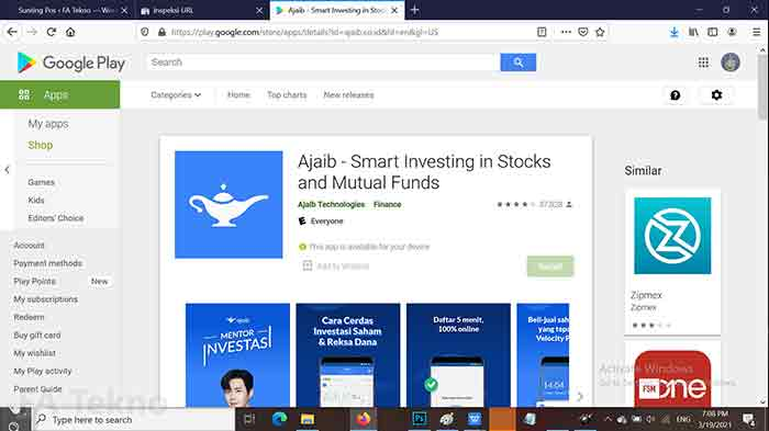 Ajaib-Aplikasi Trading Saham