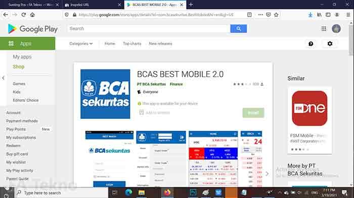 BCAS Best Mobile-Aplikasi Trading Saham