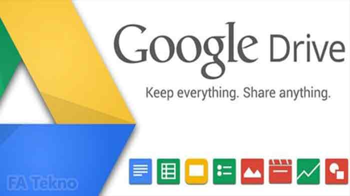 Google Drive-Scan Dokumen