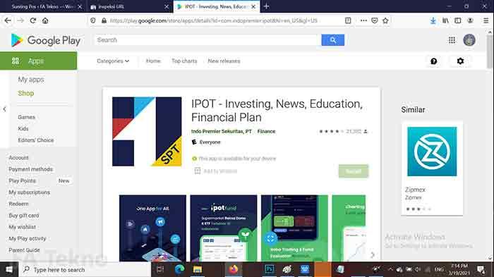 IPOT Indopremier-Aplikasi Trading Saham