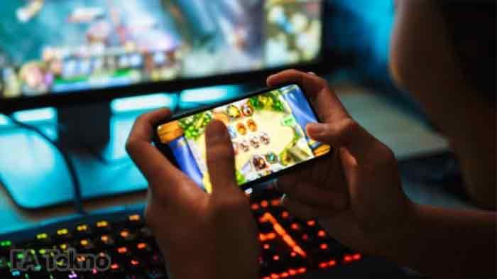 Ilustrasi Main Game di Android