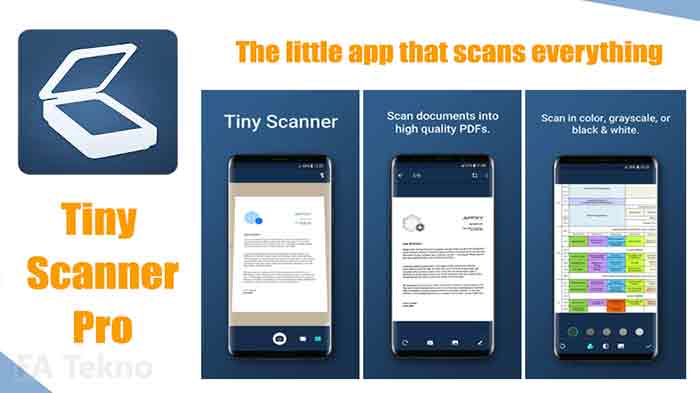 Tiny Scanner-Aplikasi Scan Dokumen