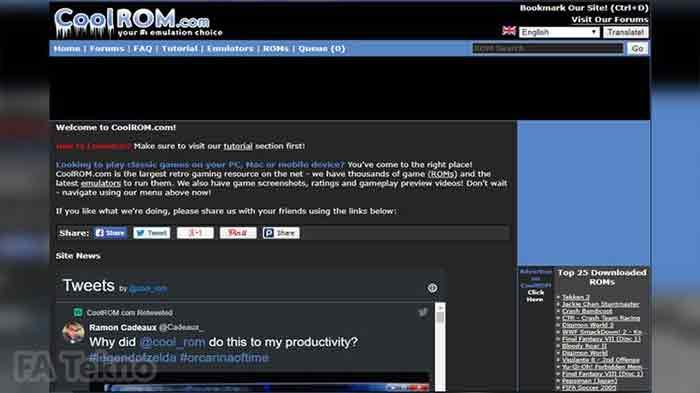 Website CoolROM