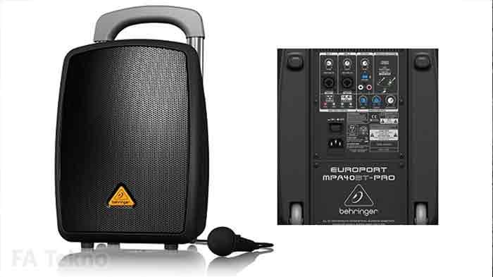 Behringer-Speaker Portable